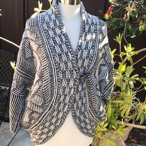 Zara knit toggle cardigan